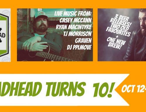 Broadhead Turns Ten – Press Release